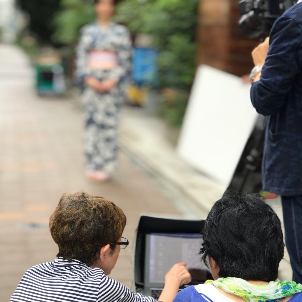 ハッケン!ジャパンのスタイリングとお着付けを担当させていただきました。